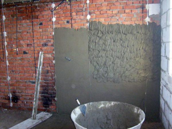 Как установить маяки на стену - монтаж маяков