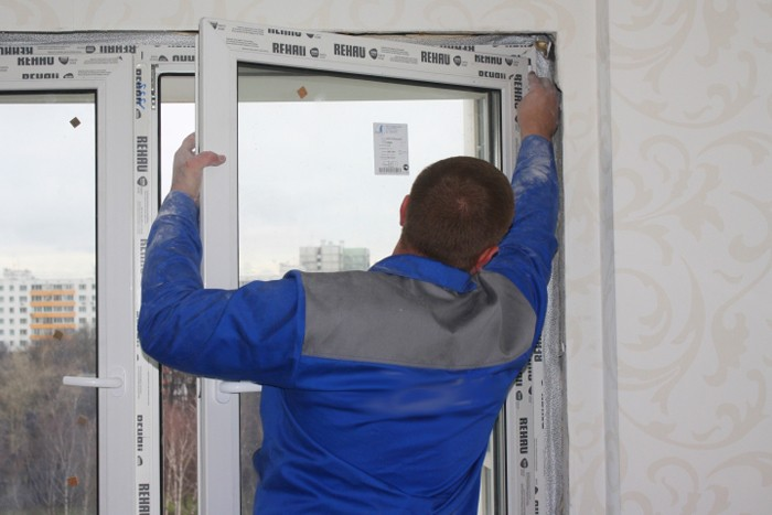 Как демонтировать пластиковое окно - демонтаж стеклопакета
