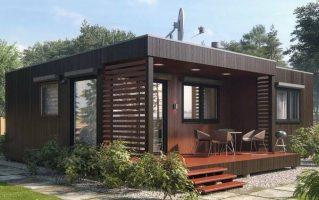 Каркасный дом — быстровозводимый дом