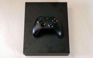 Xbox One X — Обзор мощной игровой консоли, в которой есть больше