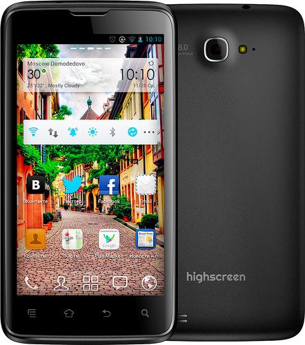 Highscreen Explosion – российский бюджетный аналог флагманского смартфона Samsung Galaxy S III
