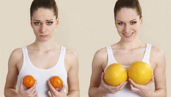 Как увеличить грудь, не ложась под нож