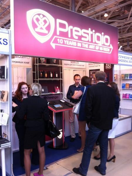 Prestigio участвует в Московской Международной Книжной Выставке-Ярмарке