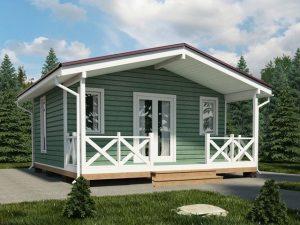 Садовый дачный домик или отдых у моря?